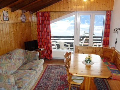 Photo for 2* Studio for 2-4 people in the centre of the resort at about 350 meters from the ski lift. Entrance