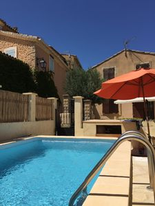 Photo for House in Provence village 10km from Vaison la Romaine with private pool