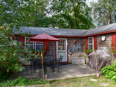 Photo for Affordable vacation cottage on a large private wooded lot