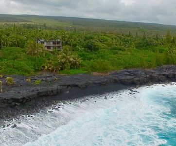 Private Oceanfront Luxury Home On The Pristine Puna Coast
