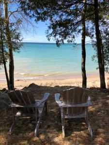 Photo for Swift Cottage-Lake Michigan Cottage on the Beach- M119 Tunnel of Trees Goodhart