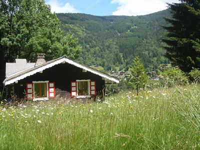 Photo for Traditional wooden chalet offering a homely feel with breath-taking views.