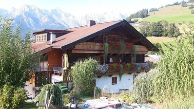 """Photo for Fantastic Apartment """"Steinernes Meer"""" with Balcony, Mountain View & Wi-Fi; Parking Available"""