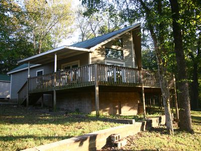 Photo for River Front Cabin On Kings River With Room For Your Horses