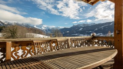 Photo for Luxury Chalet In Old Hamlet With Stunning Views Above Samoens