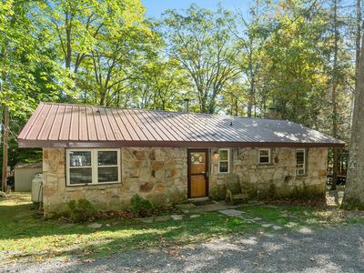 Photo for DOGS WELCOME! Lakefront Home w/Private Dock, Hot Tub, & Wood Fireplace!