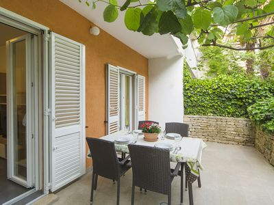 Photo for 1BR Apartment Vacation Rental in Poreč