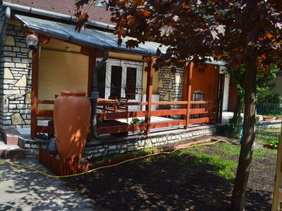 Photo for Cozy holiday home in Balatonszeplak So 200m to Balaton footpath