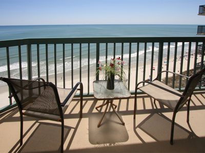 Photo for $200 OFF JULY 6-13! OCEANFRONT 4 Bedroom 3 bath  Outdoor/indoor Pool, Lazy River, Jacuzzi, Kiddie Pool, Fitness Room.