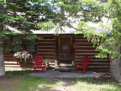 Photo for Charming Log Cabin in Trees - West Yellowstone, 7 night discount