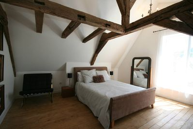 Master bedroom with walkin wardrobe and ensuite