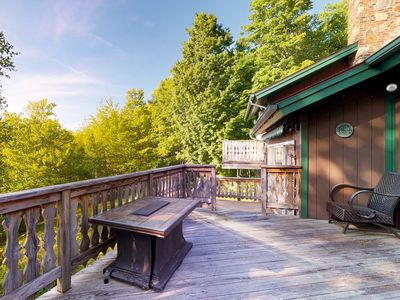 Photo for Mittersill alpine lodge w/ infinity view of the mountains and forest!