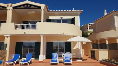 Photo for Luxury newly refurbished villa in Luz with fabulous sea views and private pool
