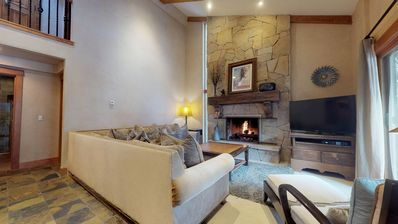 Photo for Spacious luxury 2 bedroom with loft, 3 bath Villa in the heart of Vail Village