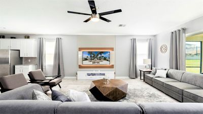 Photo for Solara 9BR Home with Private Pool  Near Club House