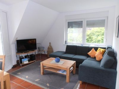 Photo for Anlage am Wehrberg Apartment 5, non-smoking, 6 persons, Wi-Fi, south-facing balcony, quiet location