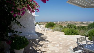 Photo for Villa Joy, charming house located in Ampelas in a place with sea views