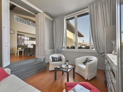 Photo for Marchese Center apartment in Duomo with WiFi, integrated air conditioning & lift.
