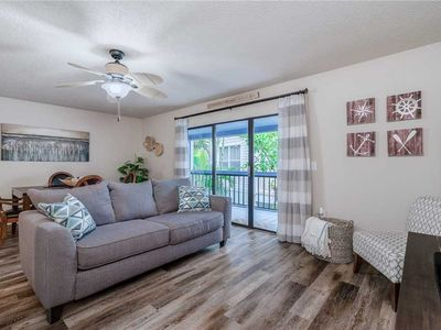 Photo for Seashell 19, 2 Bedrooms, Pool Access, WiFi, Sleeps 6, Walk to Beach