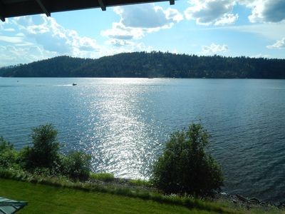 Photo for BUCOLIC BEAUTY - Waterfront Luxury Condo on Lake Coeur d'Alene