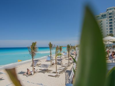 Photo for Studio Right At The Beach. Hotel Zone, Cancun. Condo-hotel.