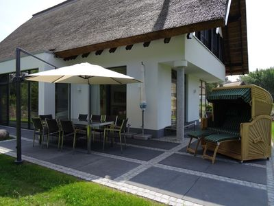 Photo for 5 star 200 sqm luxury residence, 4 bedrooms, wellness sauna, fireplace,