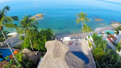Photo for Puerto Vallarta's finest luxury beachfront rental villa