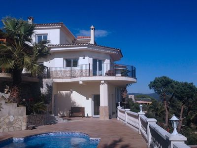 Photo for Villa with sea view & pool ideal for family holidays