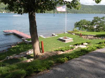 Photo for Cozy Cottage on Keuka Lake's West Shore, Spectacular Views, Prime Lake Frontage
