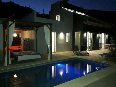 Photo for LUXURY VILLA, PRIVATE HEATED POOL, TENNIS COURT, BBQ, WIFI, PRIVATE CAR PARKING