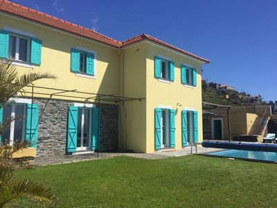 Photo for Villa Pargo - NEW - Panoramic sea views and sunset