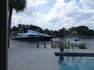 Photo for AWESOME INTRACOASTAL w/ BOAT DOCK & HEATED POOL - Immediate Reply to Inquiries