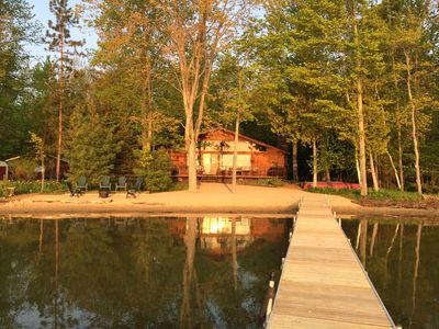 Photo for Avoiding Crowds? Tranquil, Inviting Cabin on Green Lake near Interlochen School