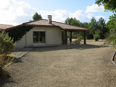 Photo for Charming villa between the Landes forest and the ocean