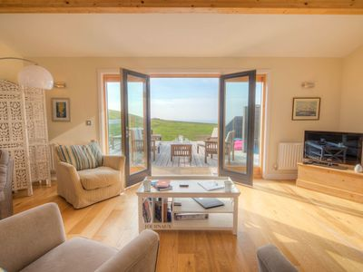 Photo for Beautiful holiday home with, just a walk away from Talland beach...