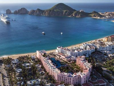Photo for THE VERY BEST STUDIO on MEDANO BEACH, CABO/$1,479.00/week! Includes kitchenette!