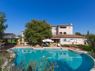 Photo for First class luxury villa with heated pool, 800 sqm living area, 30000 sqm garden