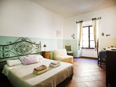 Photo for Trastevere - Deluxe Triple Room + Private Bathroom