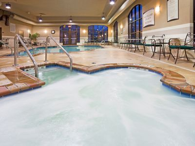 Photo for Indoor Pool + Hot Tub + Free Breakfast | Close to the Airport!