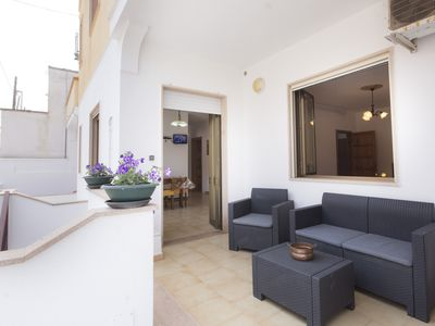 Photo for Comfortable and spacious apartment in Salento just a few steps from the beach