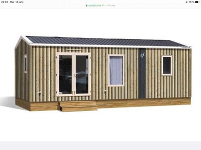Photo for Camping Le Paradis **** - Air-conditioned Magnolia 3 room mobile home for 4 people