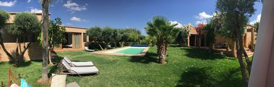 Photo for Villa in a grove of 3 hectares - Exclusive - golf courses, horse riding