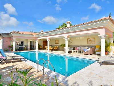 Photo for Luxury Villa With 12 meter Private Pool And Fantastic Sea Views