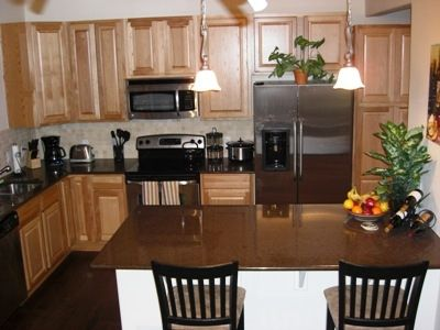 2 Bdrm: State of the art Kitchen fully equipped with all needs for your stay.