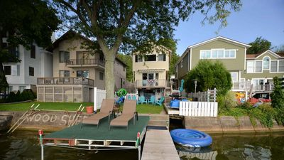 "Photo for Twins Lake House: ""Conesus Lakeside Fun!"""