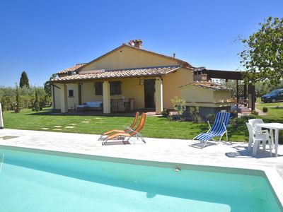 Photo for Villa with high comfort with pool near the sea, dish & washing maschine,