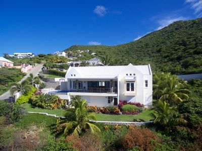 Photo for Architecturally Designed Villa in Paradise, Quiet Beach & Blue Water Views