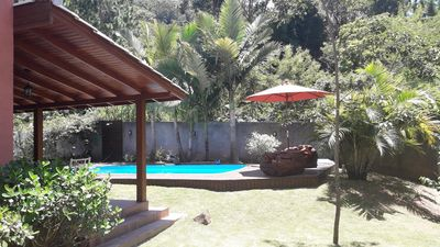 Photo for Casa Britânica, House with pool in Florianópolis, South Brazil