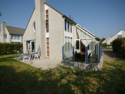 Photo for Villa allowed the sea with dunes view, fireplace, WiFi, Dogs