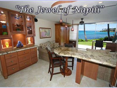 Photo for Luxury Oceanfront Napili Shores-Washer/Dryer-Listen to the Waves! PLEASE READ NOTES BELOW CALENDAR FOR IMPORTANT BOOKING INFO